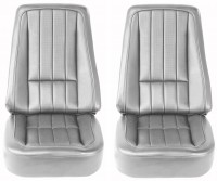 COVER-SEAT-100% LEATHER-4 PIECES-68 (#E6946)