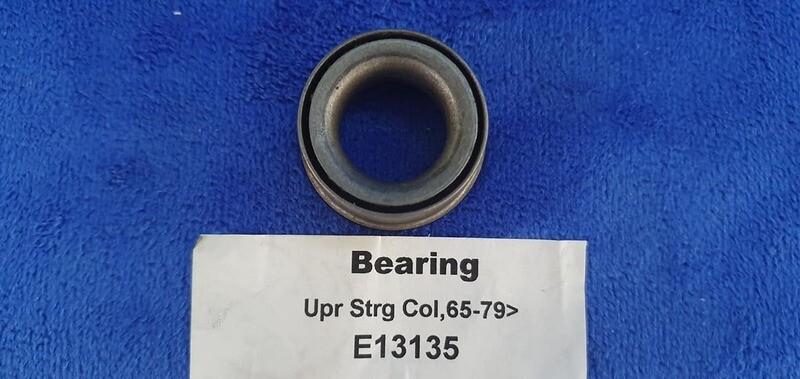 BEARING-UPPER AND LOWER STEERING COLUMN-65-79(#E13135) 1D1
