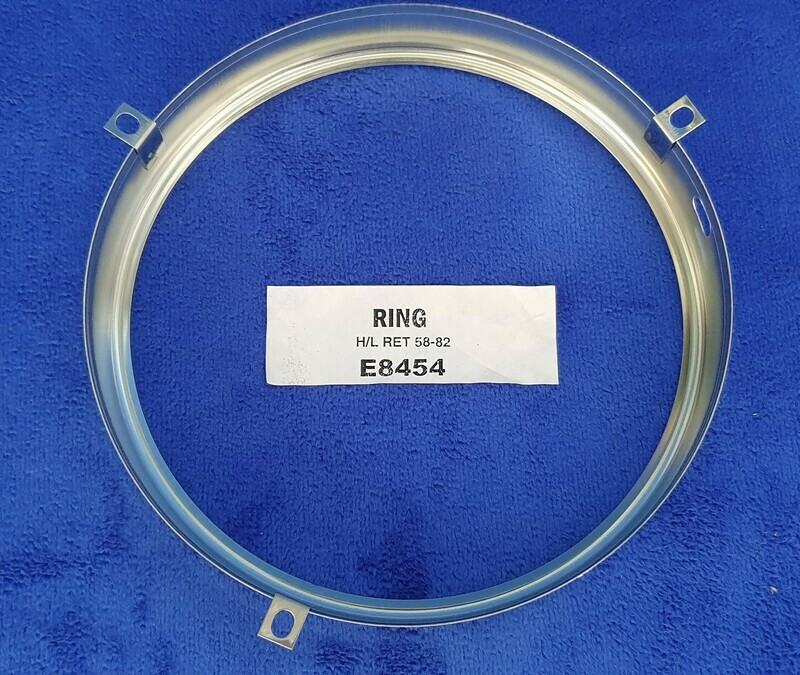 RING-HEADLAMP BULB RETAINING-EACH-58-82 (#E8454) 4B3