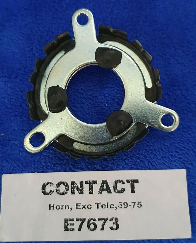 CONTACT-HORN AND HORN BUTTON RETAINER-NON-TELESCOPIC-69-75 (#E7673)  1E1
