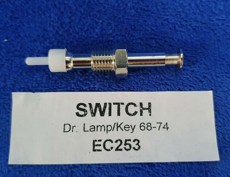SWITCH-DOOR JAMB-COURTESY LAMP OR KEY WARNING-68-74 (#EC253) 5A2