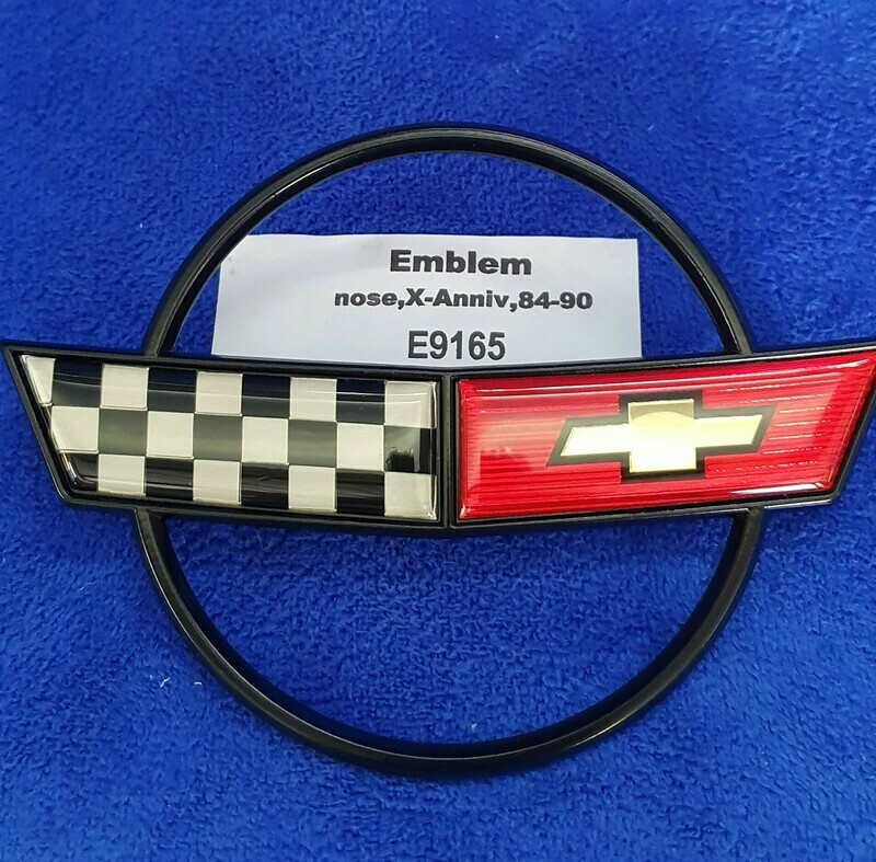 EMBLEM-FRONT-EXCLUDES 35th ANNIVERSARY-84-90 (#E9165)