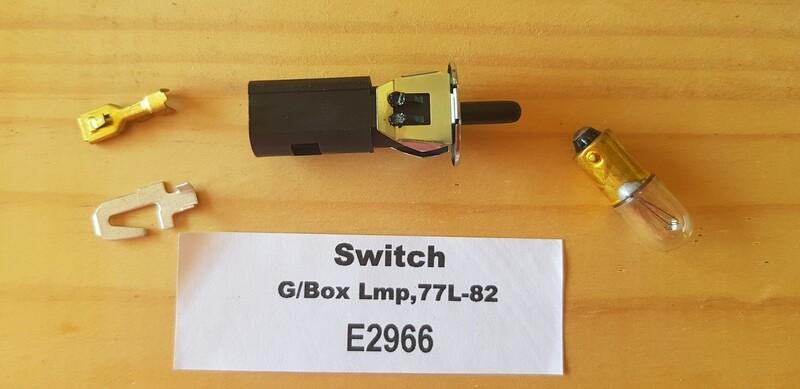 SWITCH-GLOVE BOX LAMP-77L-82 (#E2966)
