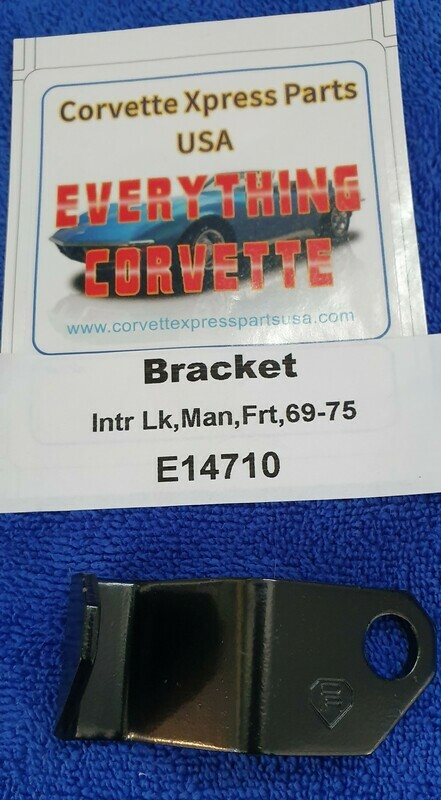 BRACKET-SHIFTER INTERLOCK CABLE-4 SPEED-FRONT-69-75 (#E14710)