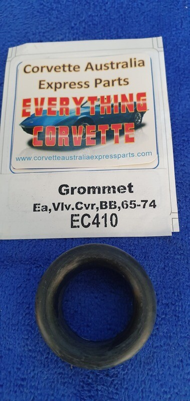 GROMMET-VALVE COVER-BIG BLOCK-WITH OUT 3x2-RIGHT-LEFT HAND VALVE COVER WITH 3 X 2-65-74 (#EC410) 1D2