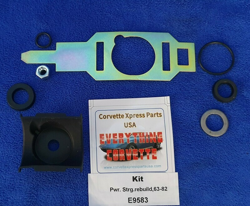 SEAL KIT-POWER STEERING CONTROL VALVE-63-82 (#E9583) 2A3