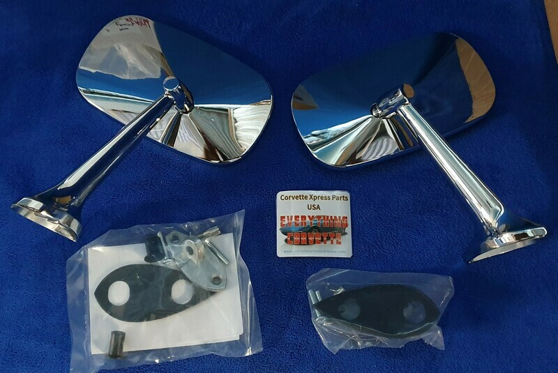 MIRROR-EXTERIOR-LARGE HEAD-INCLUDES MOUNTING HARDWARE-PAIR-75-79 (#E5904)  5A6