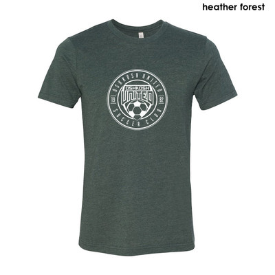 Best Ever Favorite Tee Gray Heather Forest- Size Youth XL