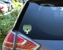 Oshkosh United Decal