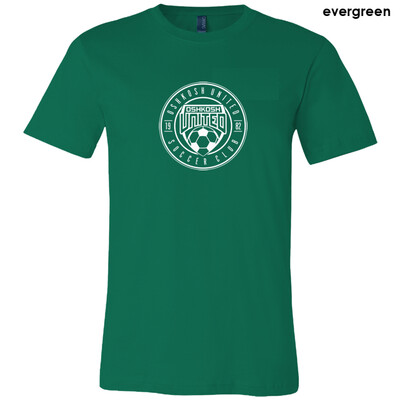 Struttin' Your Stuff Circle Tee - Evergreen Men's Size Small