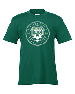 Youth Super-Performance Tee Green Youth XL