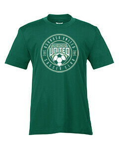 Youth Super-Performance Tee Green Youth Medium