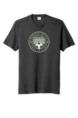 Youth Super-Performance Tee Gray Youth Large
