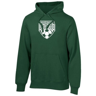 Game Time Hoodie Sweatshirt Adult Unisex Small Forest Green