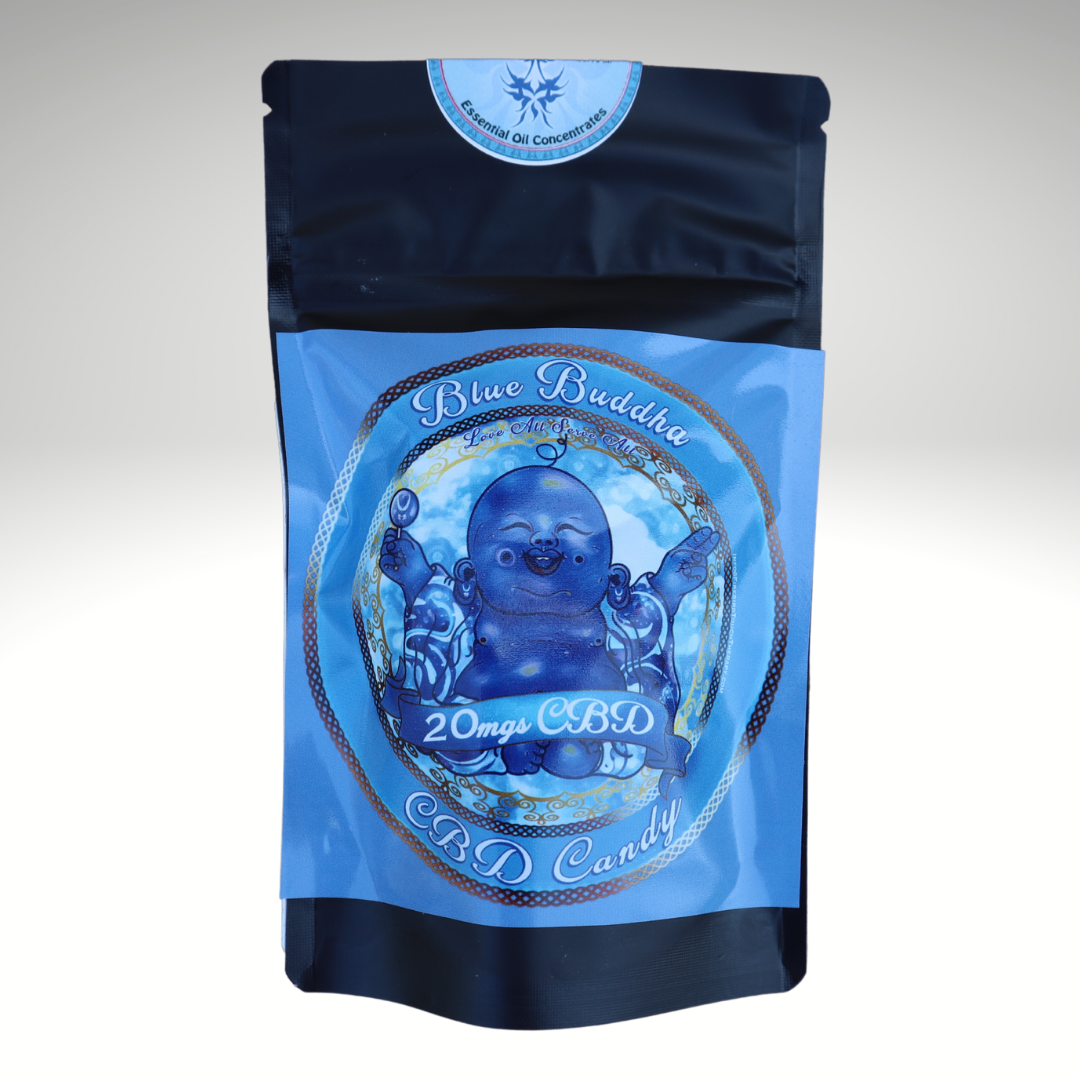 Blue Buddha Gummies 20mgs CBD