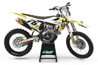 HUSKY ELITE YELLOW KIT