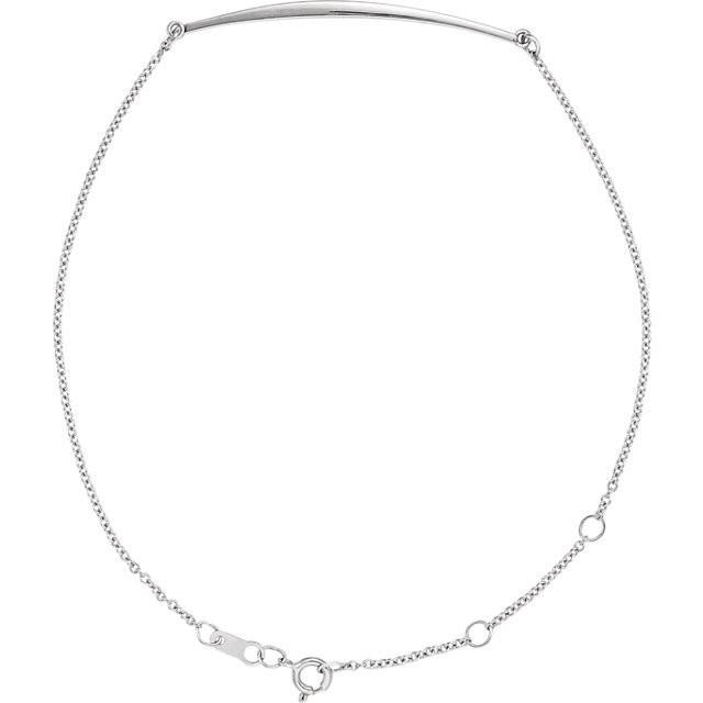 Curved Bar Bracelet