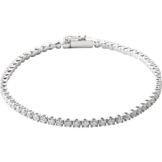 3CTW Diamond Line Bracelet
