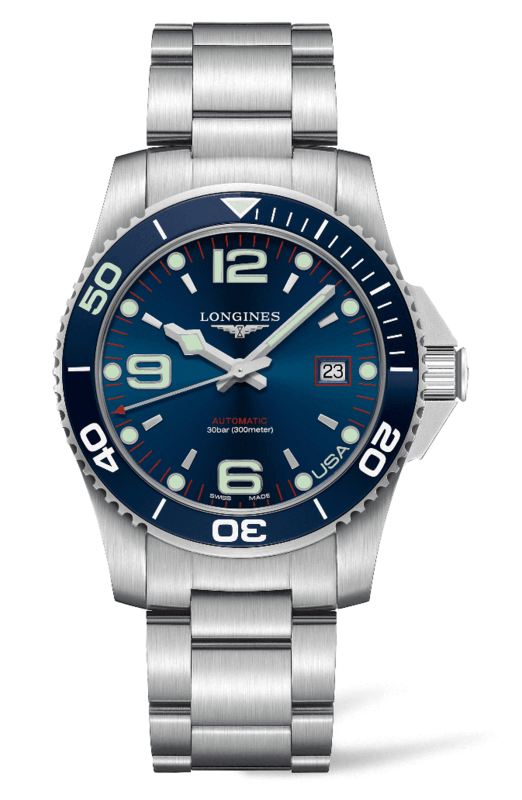 USA Exclusive HydroConquest Automatic Blue Dial Men's Watch