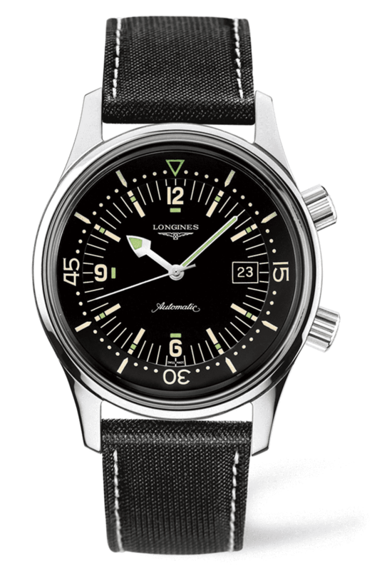 Heritage Automatic Black Dial Men's Watch