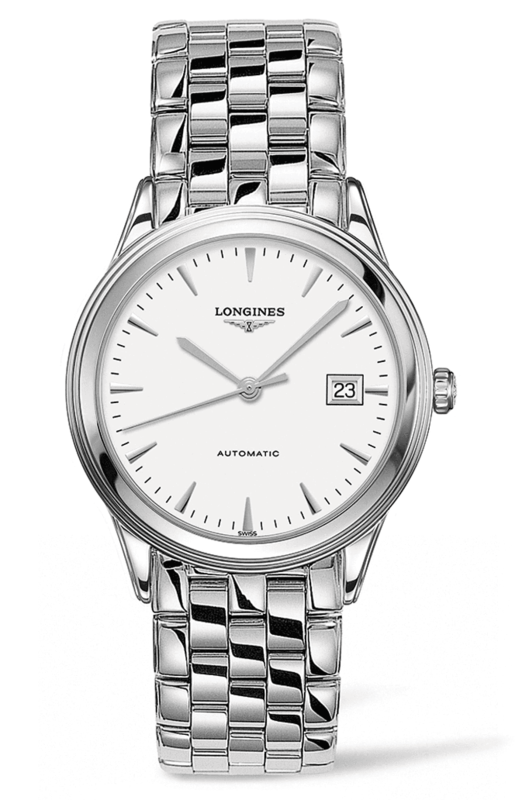 Flagship Automatic White Dial Stainless Steel Men's Watch