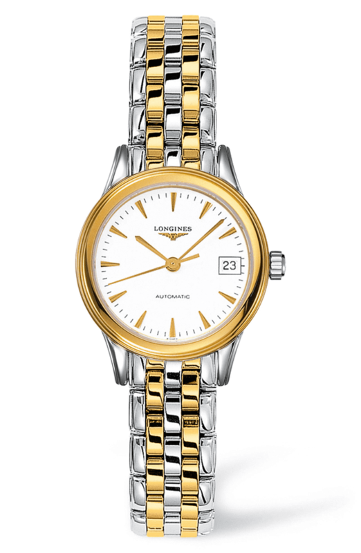 Flagship Les Grandes Two-tone Ladies Watch