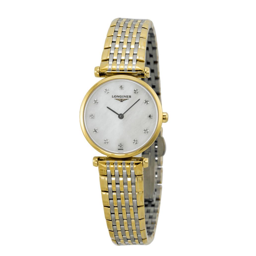 La Grande Classique Diamond Mother of Pearl Two-Tone Steel Ladies Watch