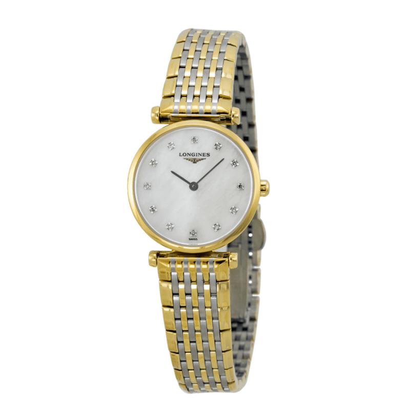 La Grande Classique Diamond Mother of Pearl Two-Tone Steel Ladies Watch