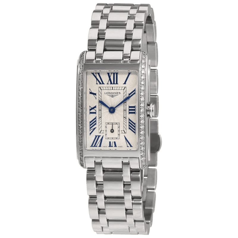 Dolce Vita Silver Textured Dial Ladies Watch