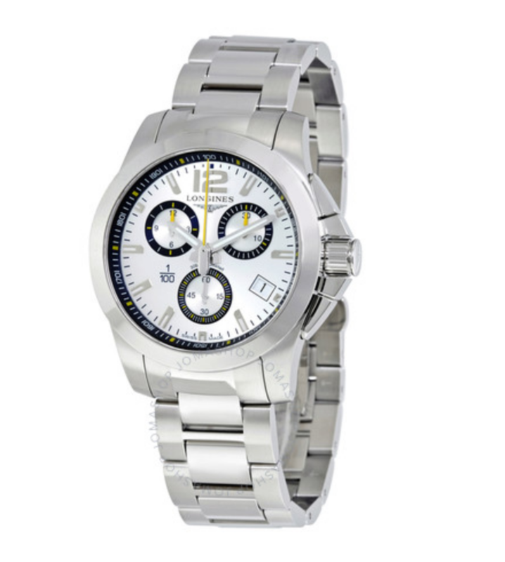 Special Edition Conquest 1/100th St. Moritz Men's Watch