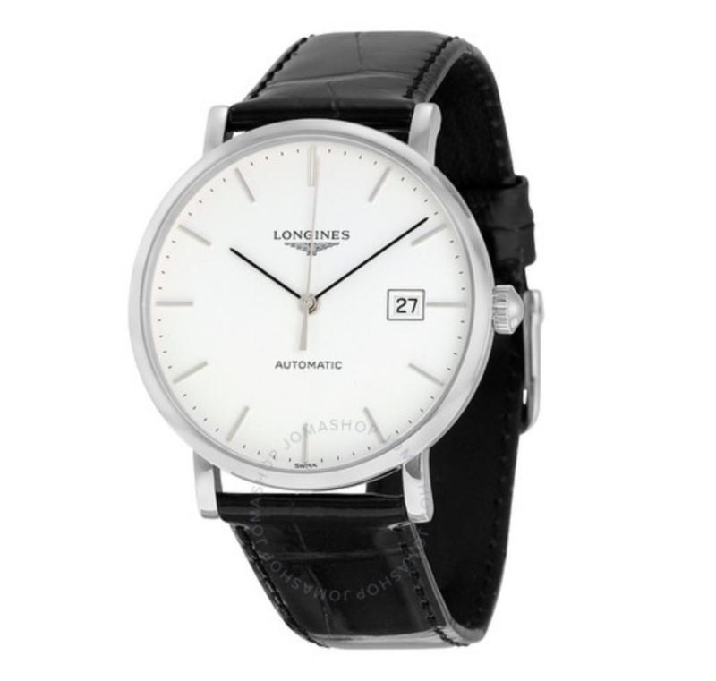 Elegant Automatic White Dial Men's Watch
