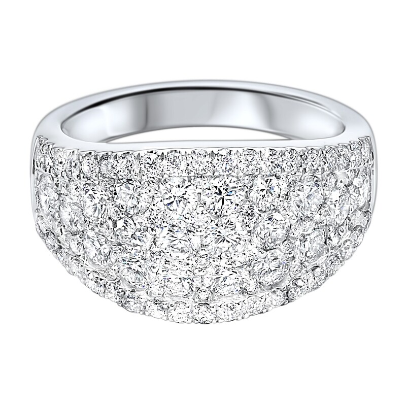 14K diamond ring 2 1/4ctw