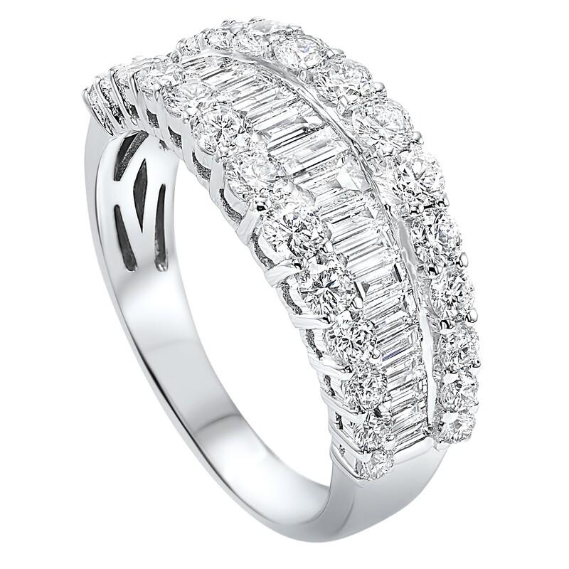 14K diamond ring 2 1/4ctw