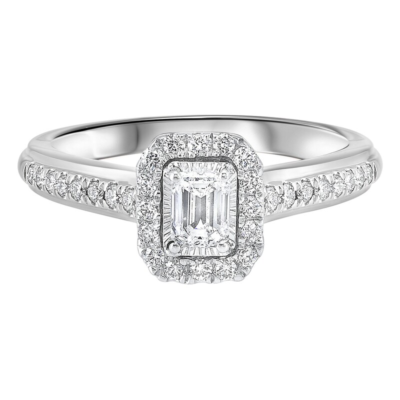 14K Diamond Ring 1ctw