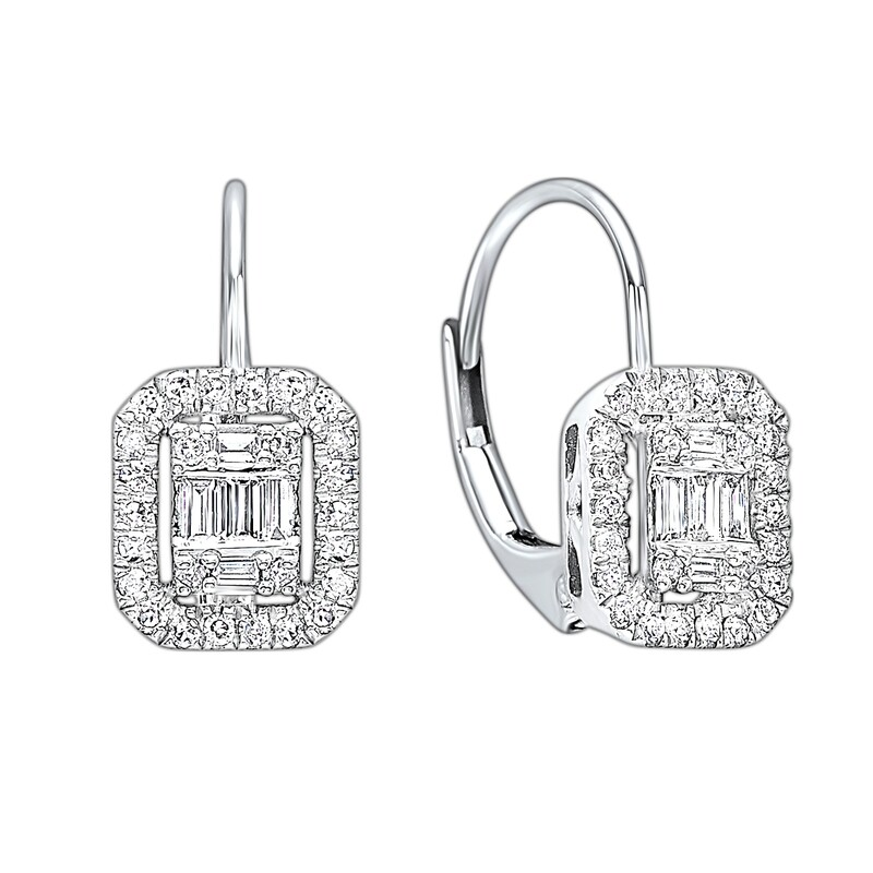 14K Diamond Earring 1/2ctw