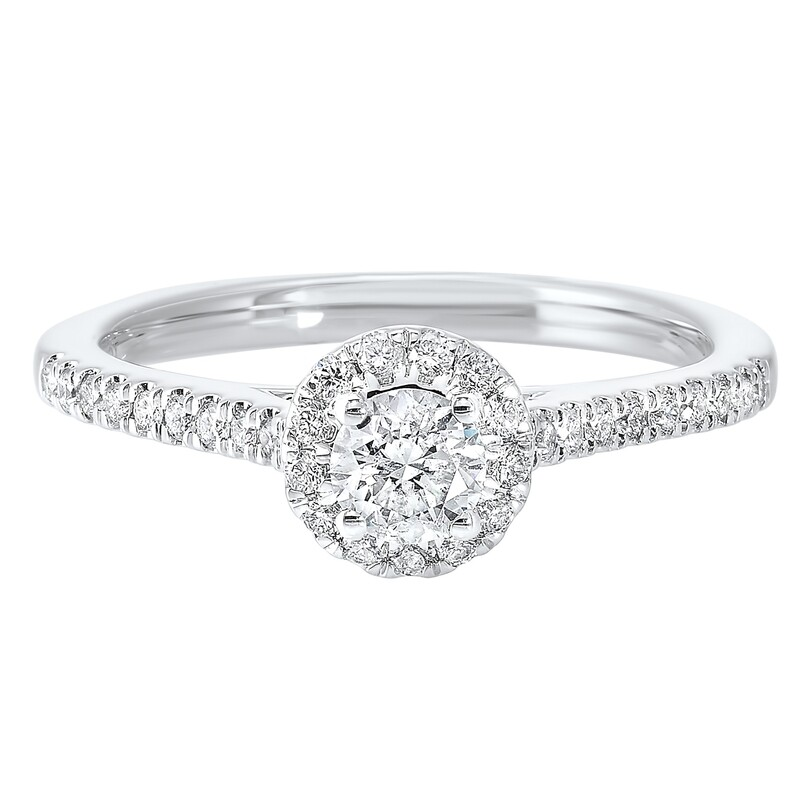 14K Diamond Ring 1/2ctw