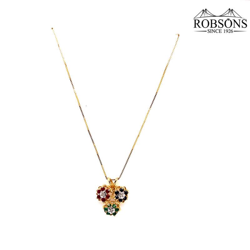 "18"" Box Chain Necklace"