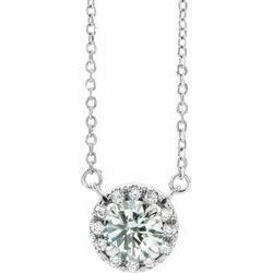 "Diamond French-Set 16-18"" Necklace"