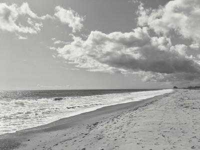 Matunuck Beach Black and White 004