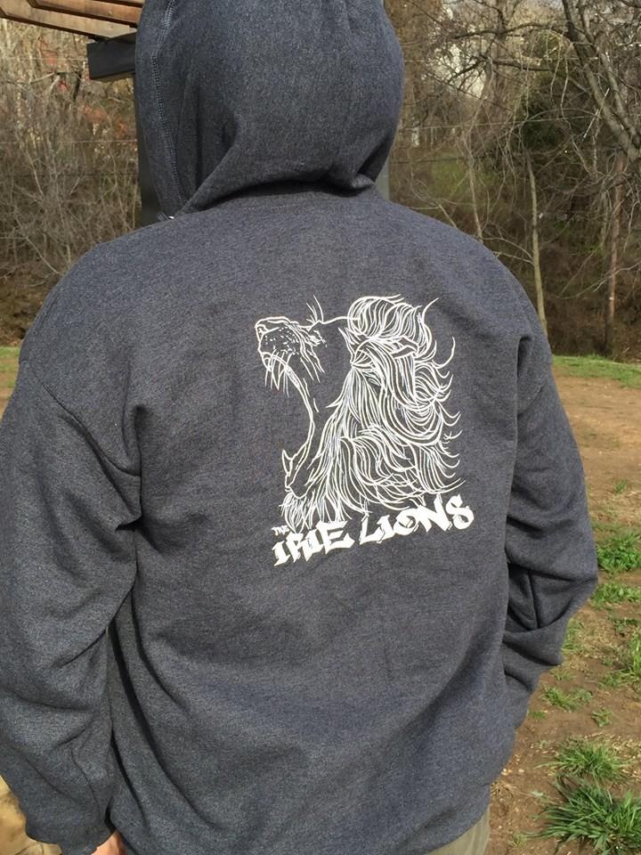 The Irie Lions Lion hoodie (EP album art)