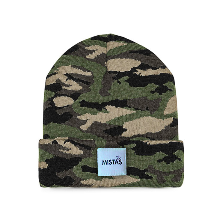 OG Beanie Jungle Camo