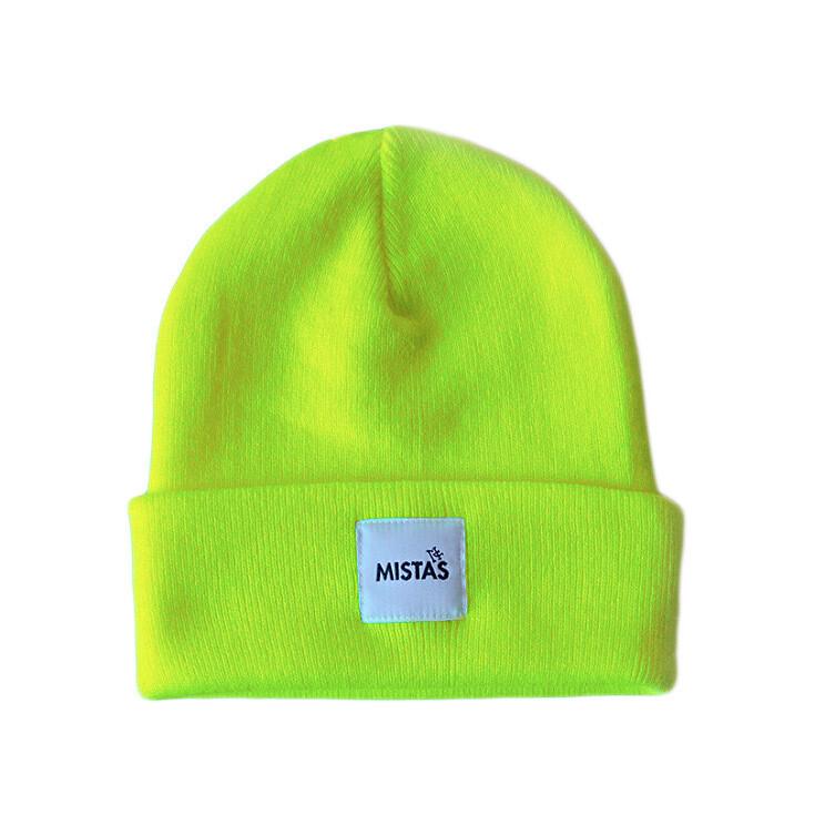 OG Beanie Neon Yellow