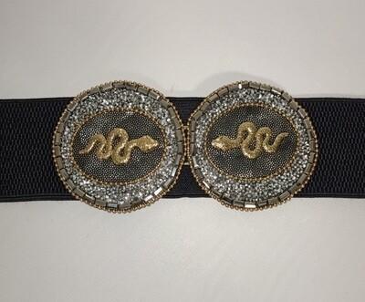 Cinturon elastico Aloa serpiente