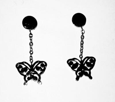 Pendientes mariposa Aloa