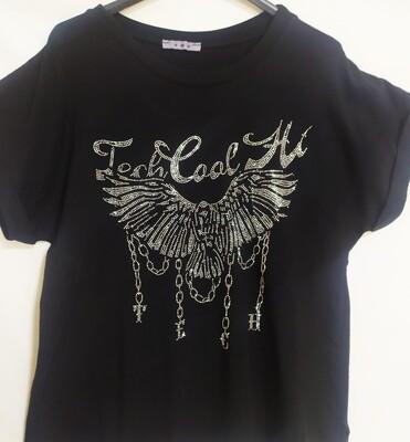Camiseta aguila Swarovski Aloa
