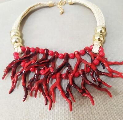 Collar Linea  Coral Aloa II