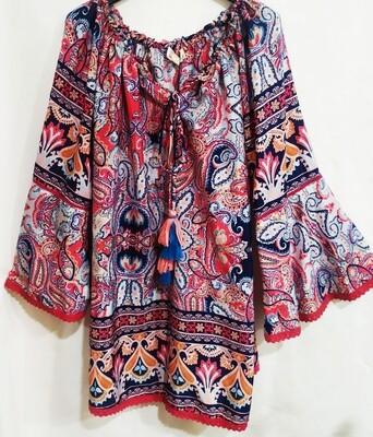 Camisa hippie chic Aloa