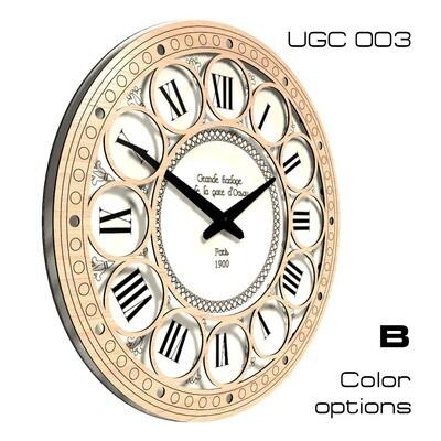 Часы настенные Клаcсик, круглые UG003 (d 45)