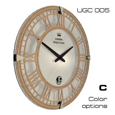 Часы настенные Классик, круглые UGС005 (d 45)