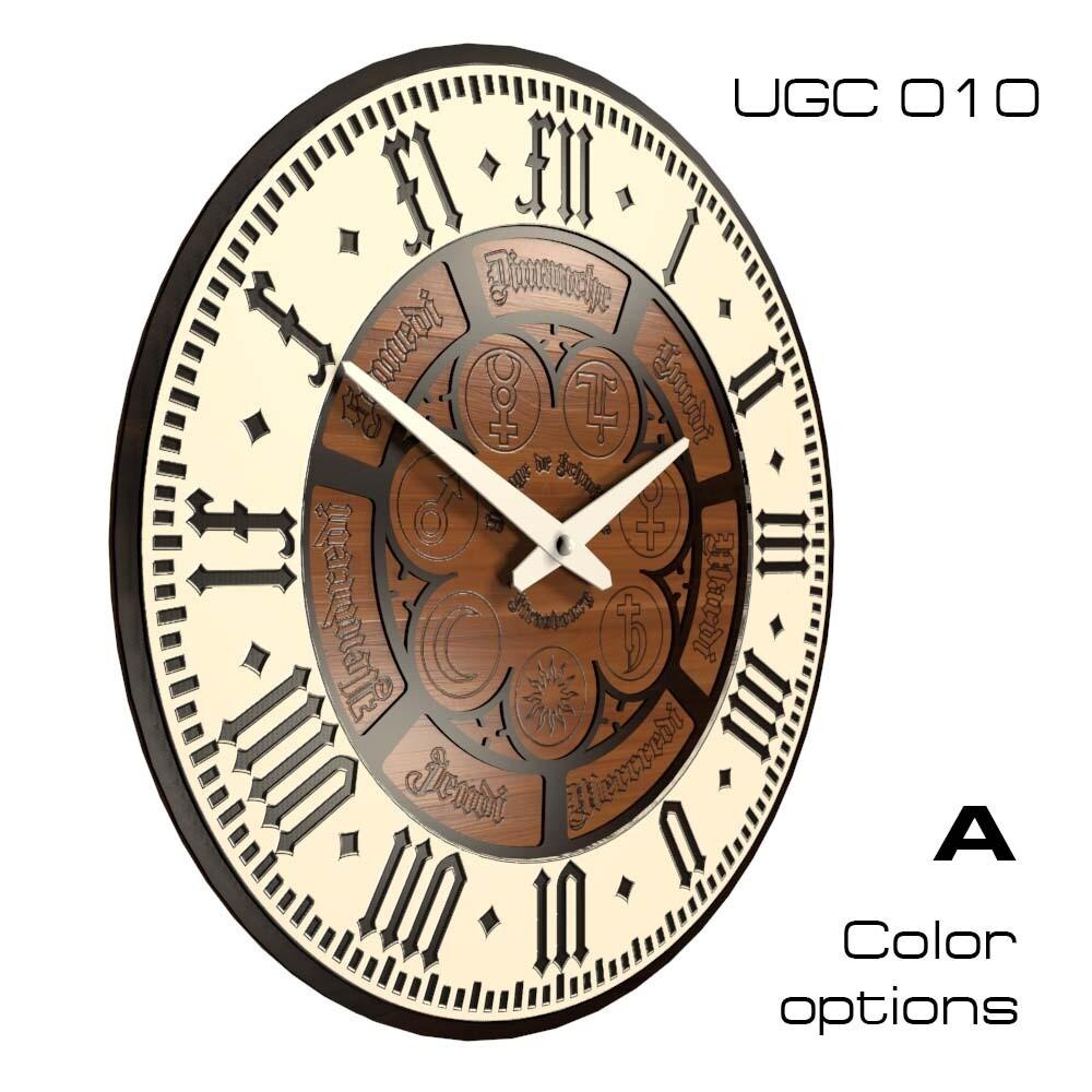 ЧАсы настенные Классик, круглые UGC (d 45)
